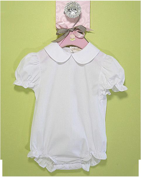 girls infant bubble romper