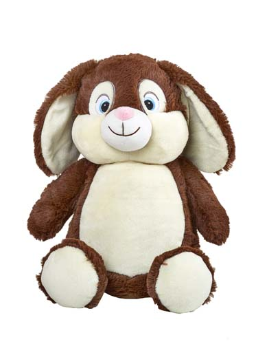 Cubbies Chocolate Brown Bunny Cubby Stuffie