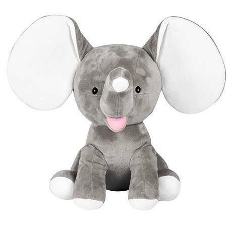 Cubbies Grey Dumble Elephant Stuffie