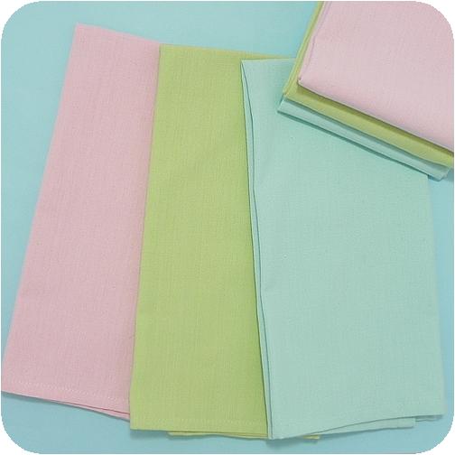 Solid Pastel Cotton Kitchen Towels