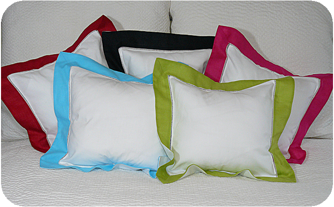 Bright Border Pillow Sham